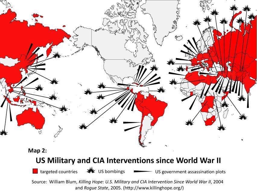 intervention map